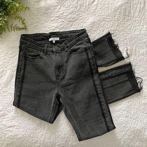 ANTHROPOLOGIE Current Air Black Skinny Jeans